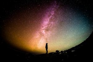 https://pixabay.com/en/milky-way-universe-person-stars-1023340